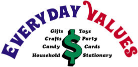 Everyday Values and more for Your Dollars Logo